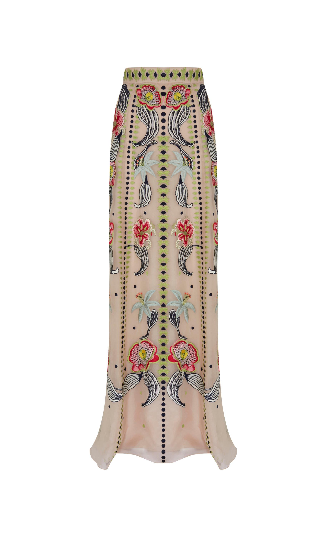Long Carmelina Skirt