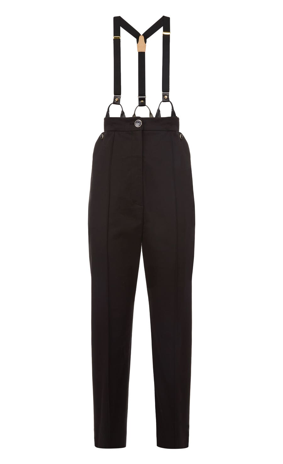 Blueberry Tailoring Trousers Br, Black