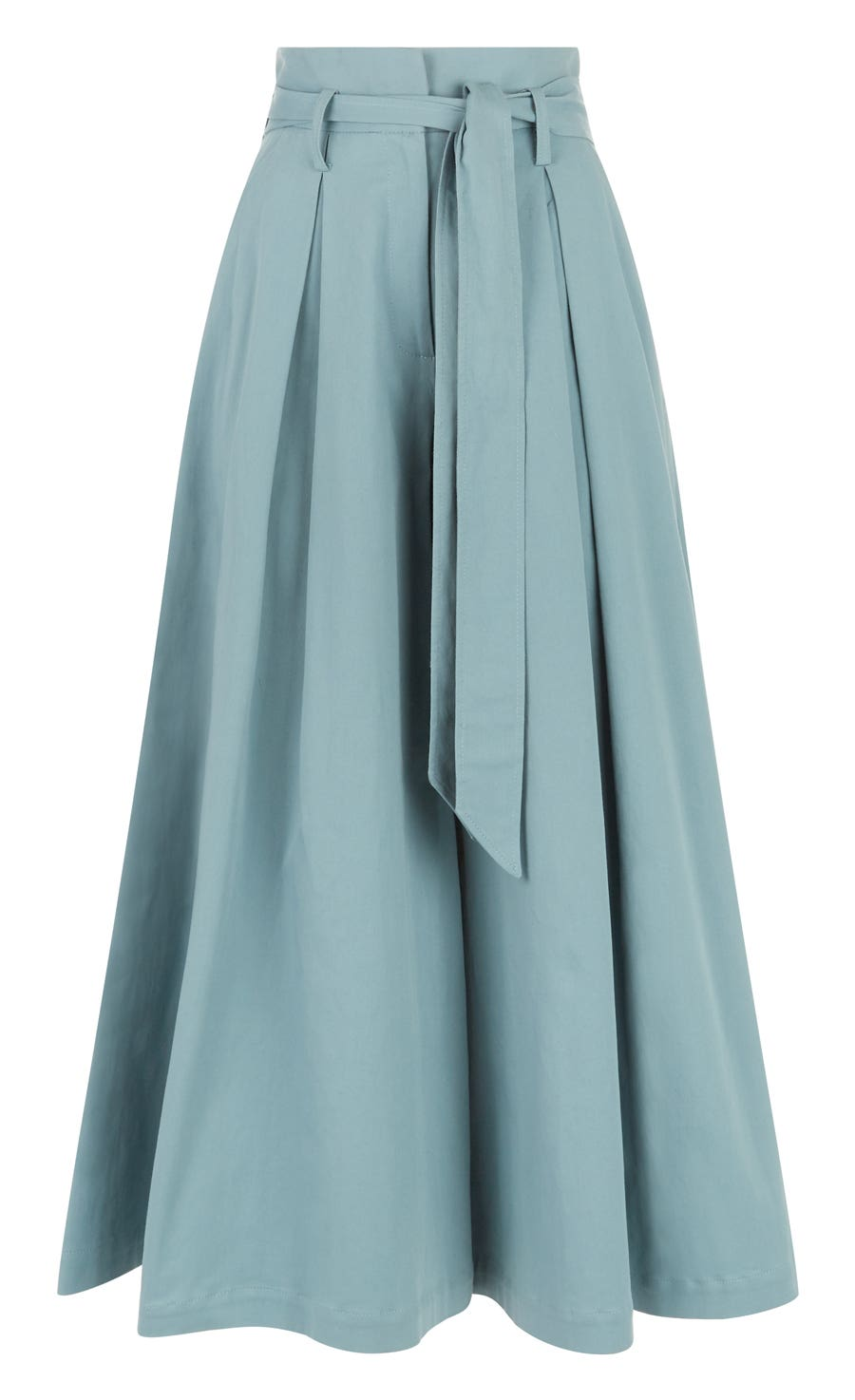 Blueberry Tailoring Ruffle Culottes, Fern