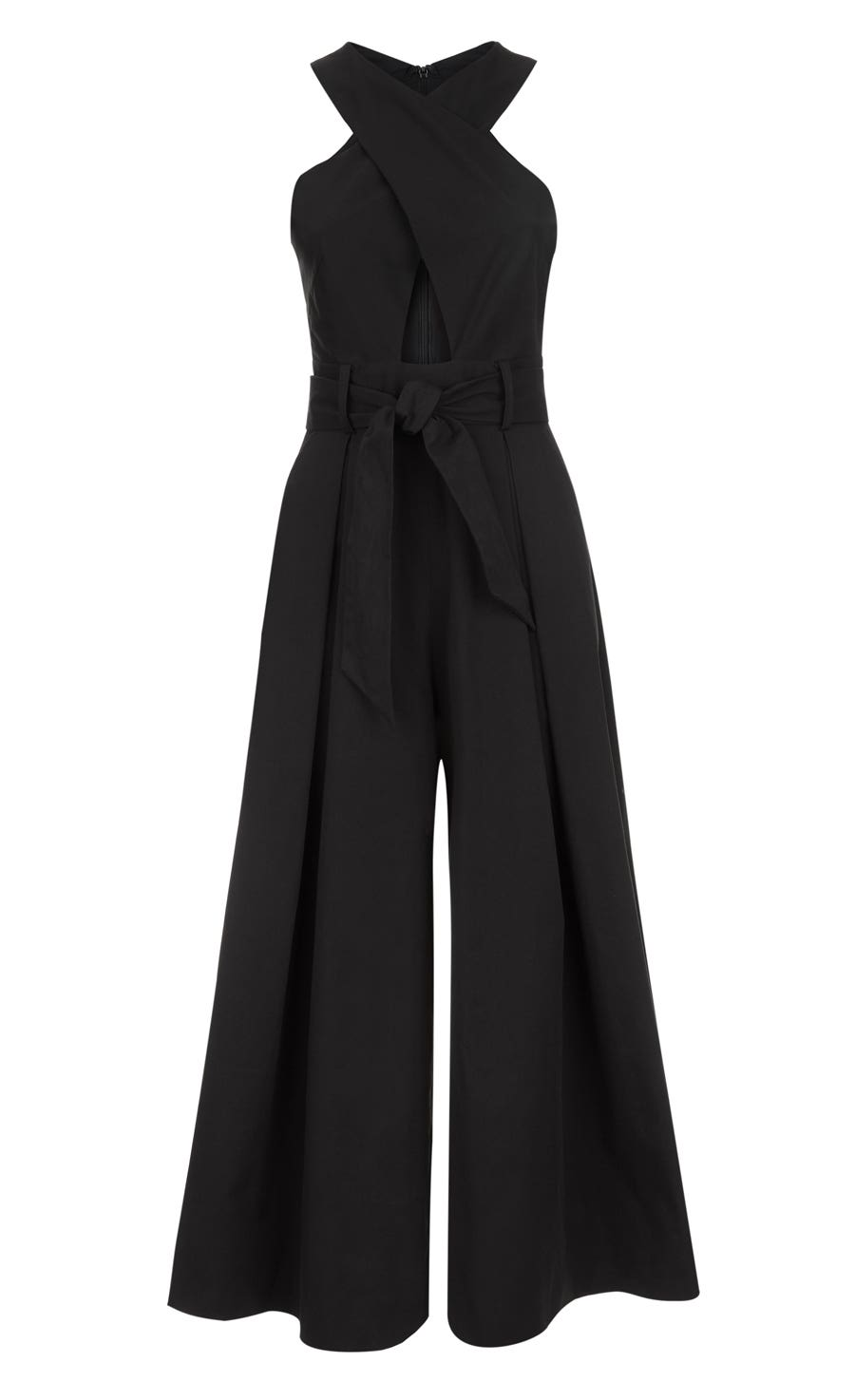 Blueberry Tailoring Jumpsuit, Black