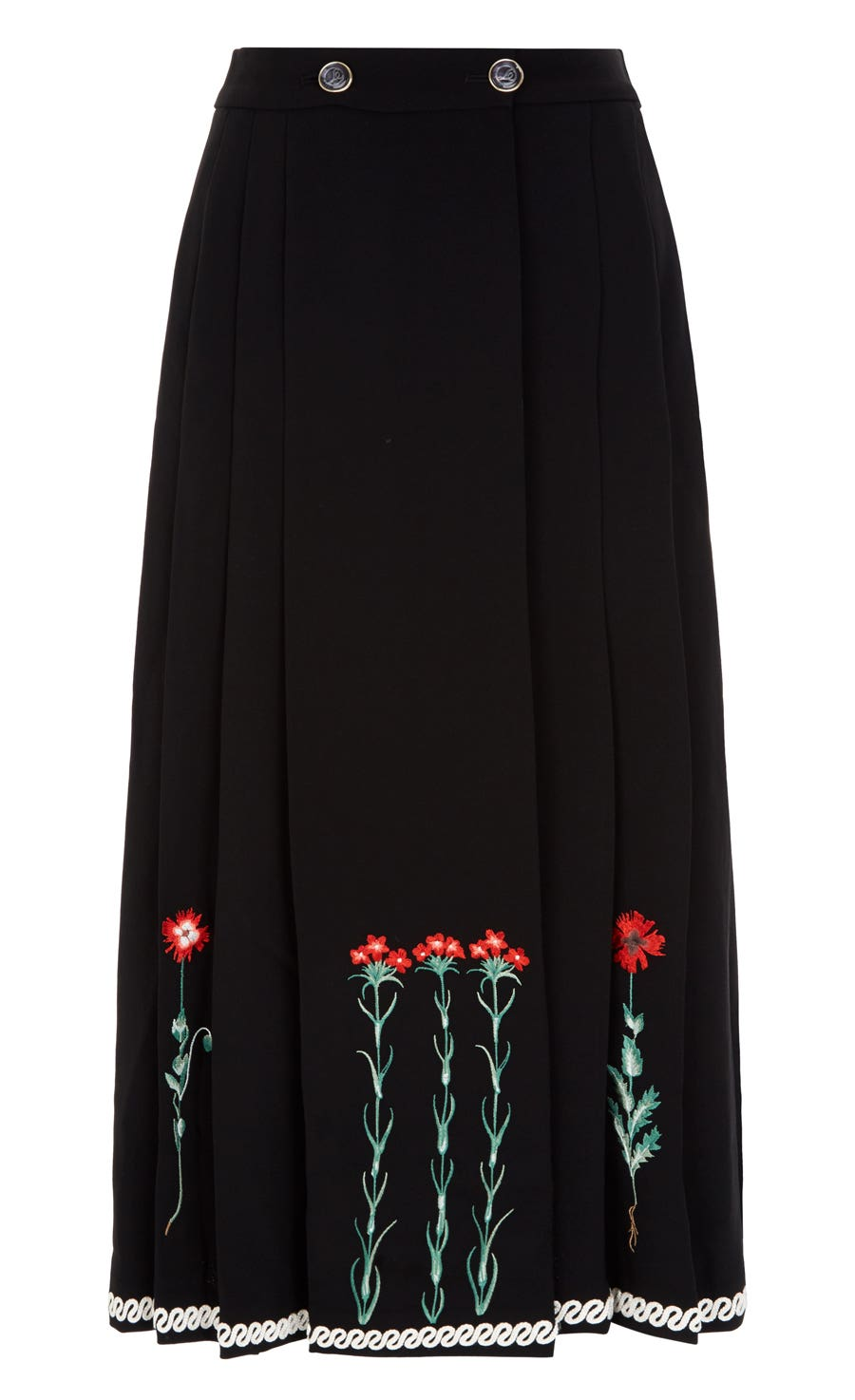 Creek Tailoring Skirt, Black