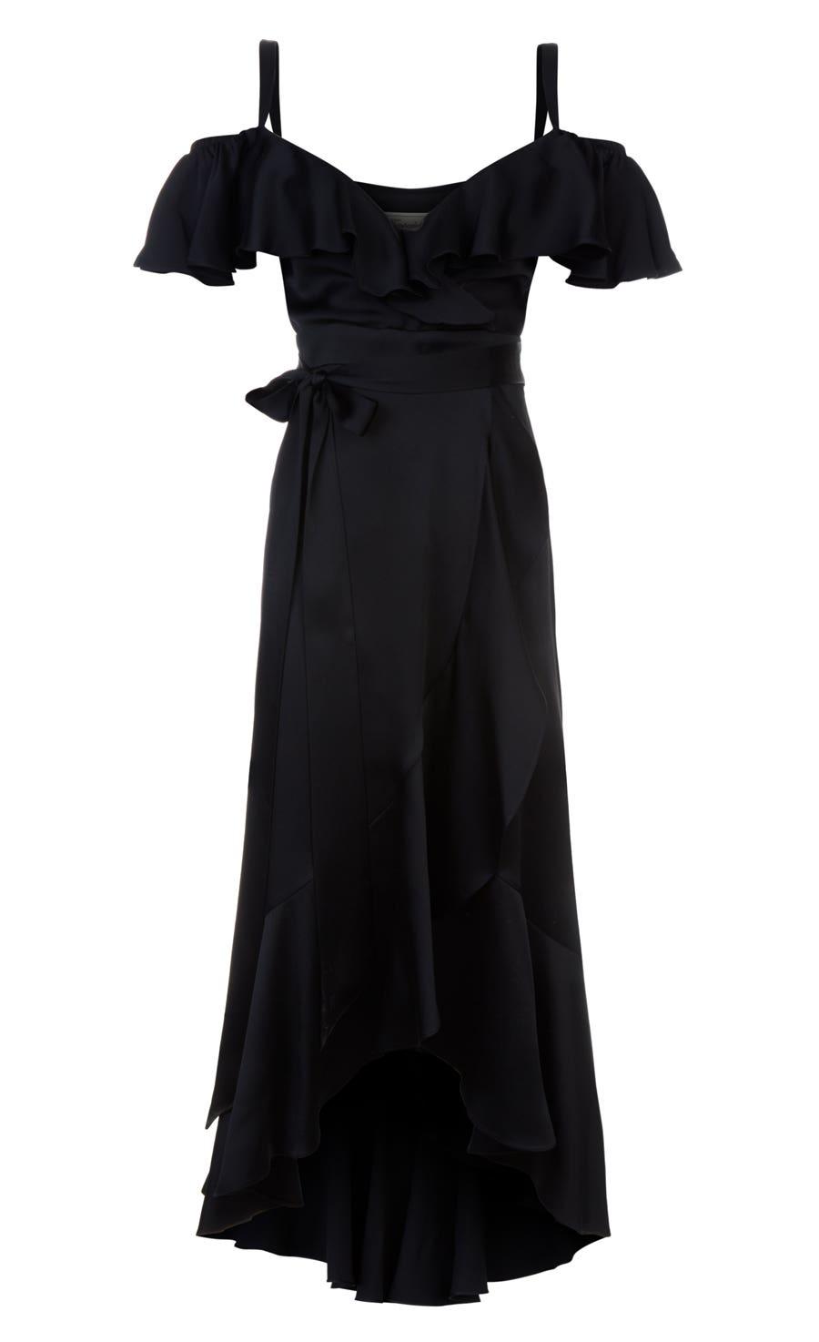Carnation Dress, Black