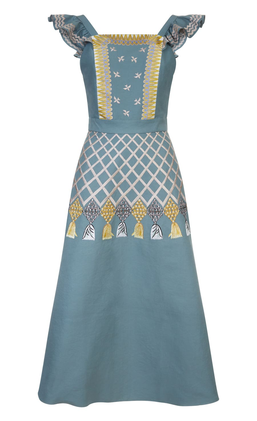 Poppy Field Dress, Fern Mix