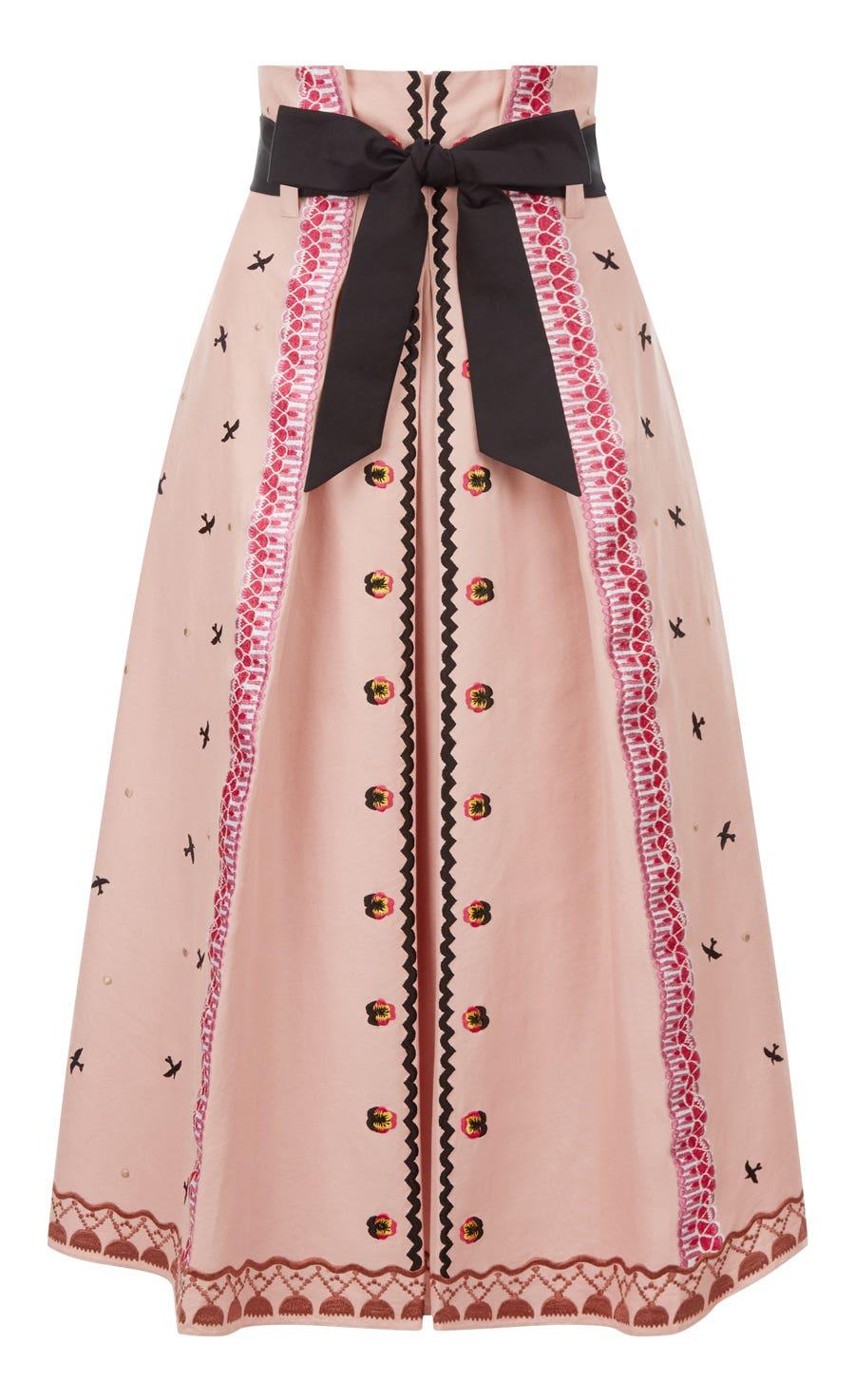 Poppy Field Skirt, Rose Mix