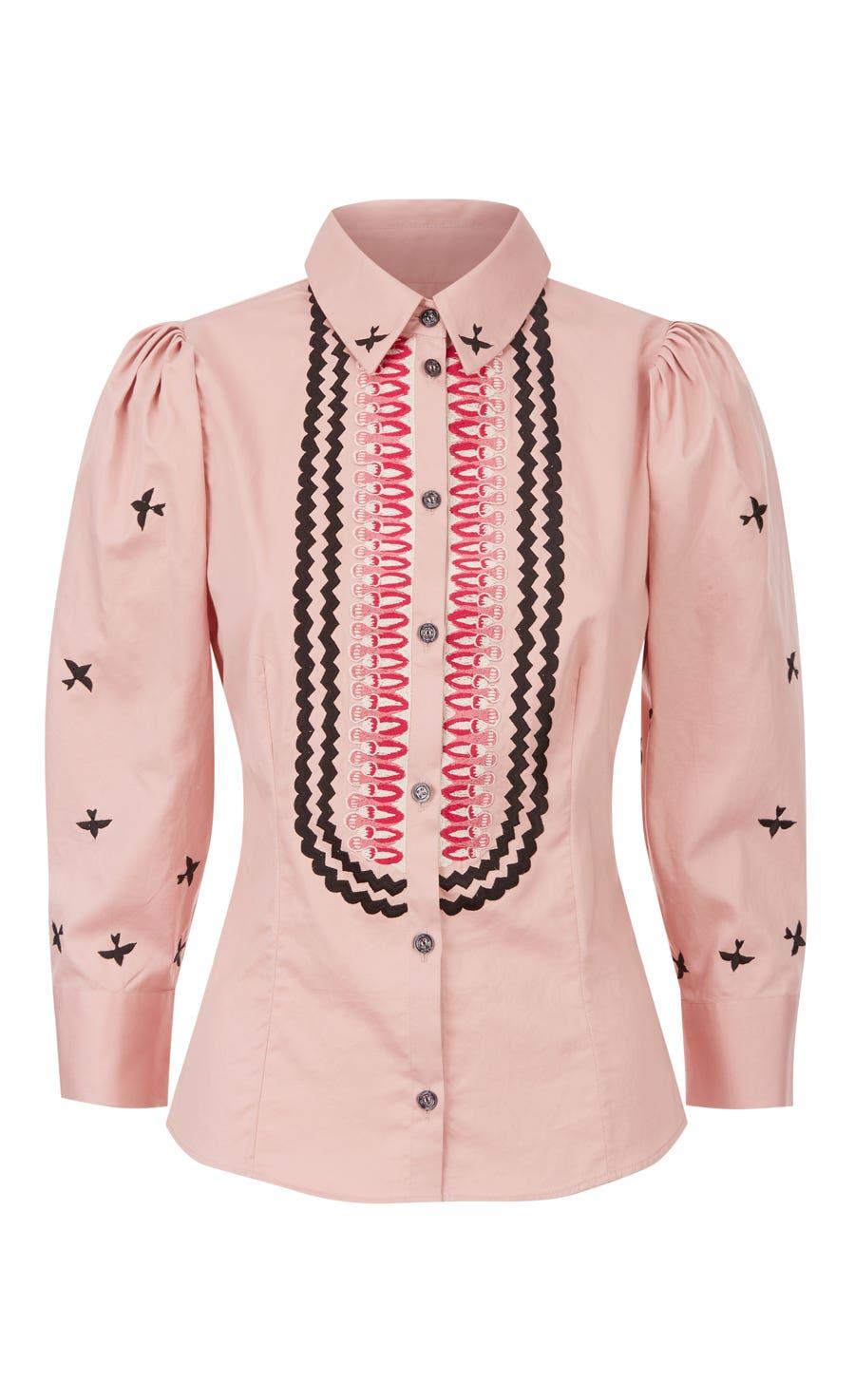Poppy Field Shirt, Rose Mix