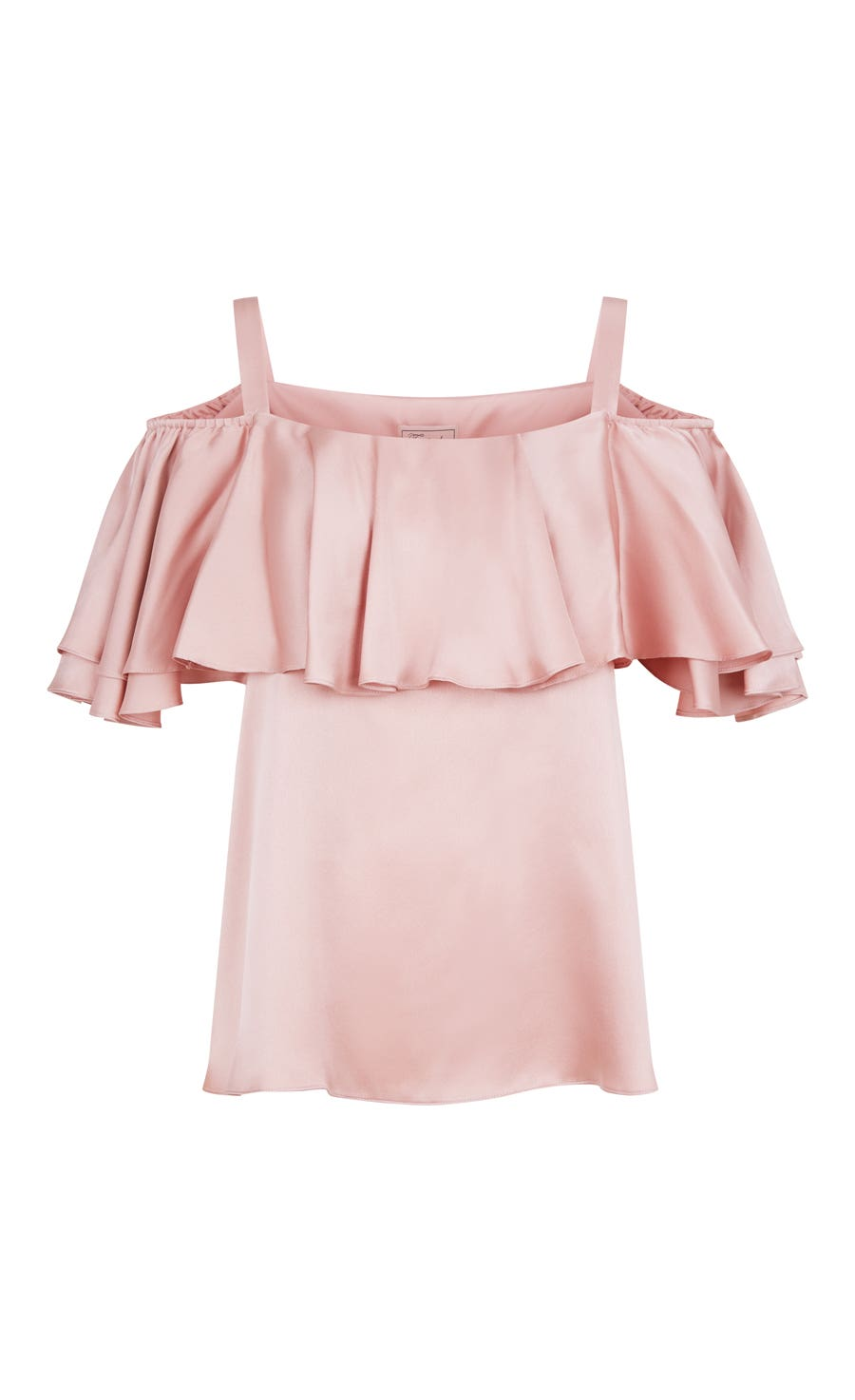 Seabright Shoulder Blouse, Peony