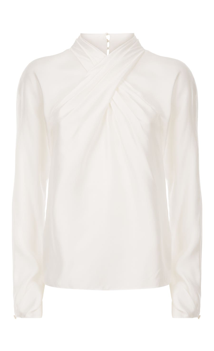 Seabright Blouse, White