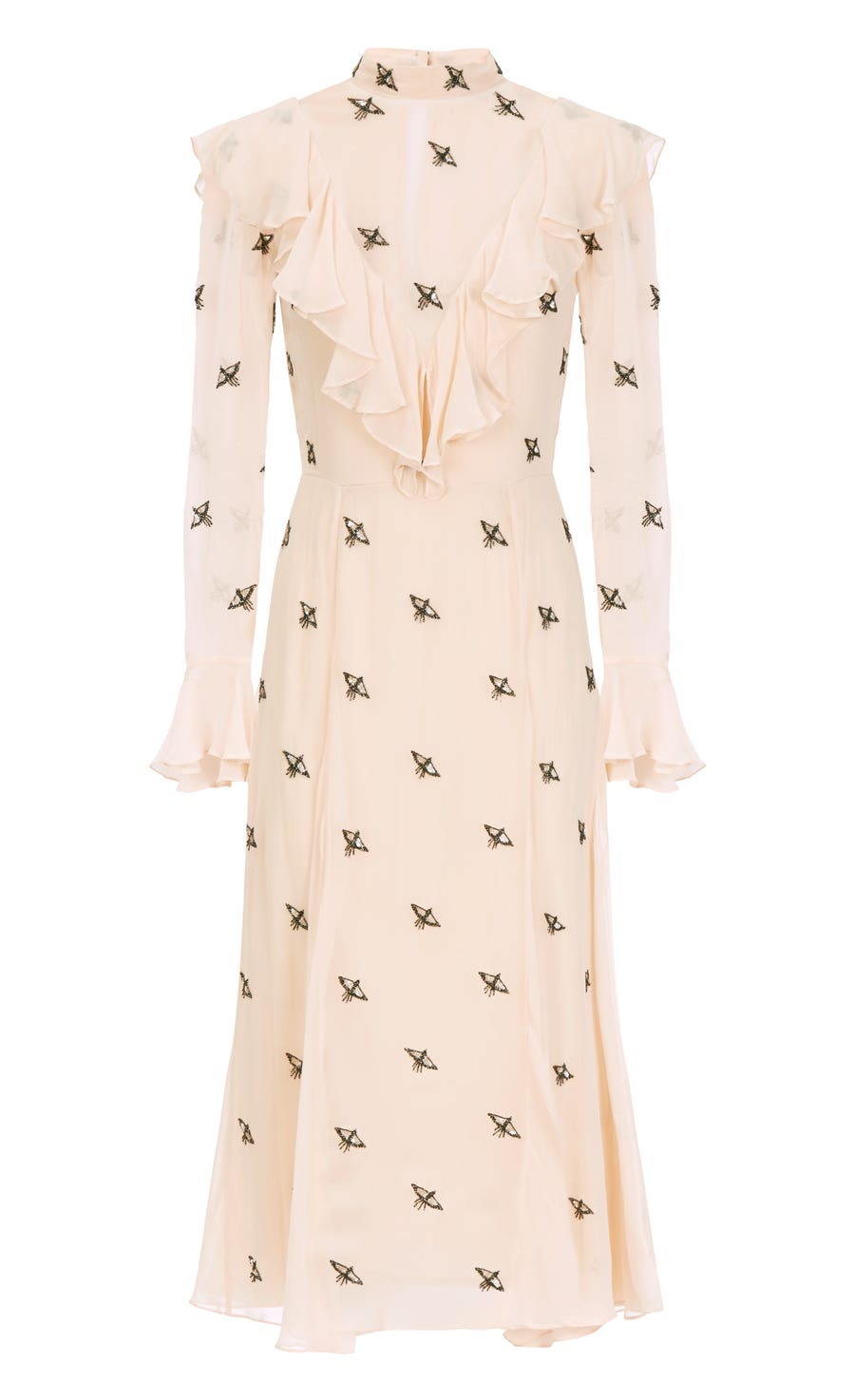 Starling Dress, Almond