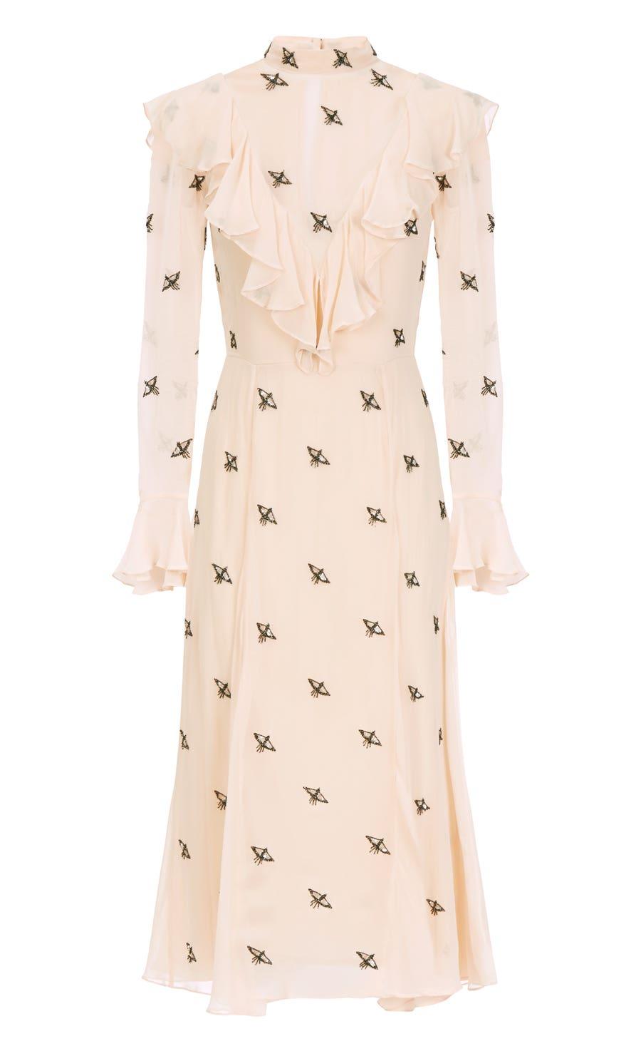 Starling Dress, Almond