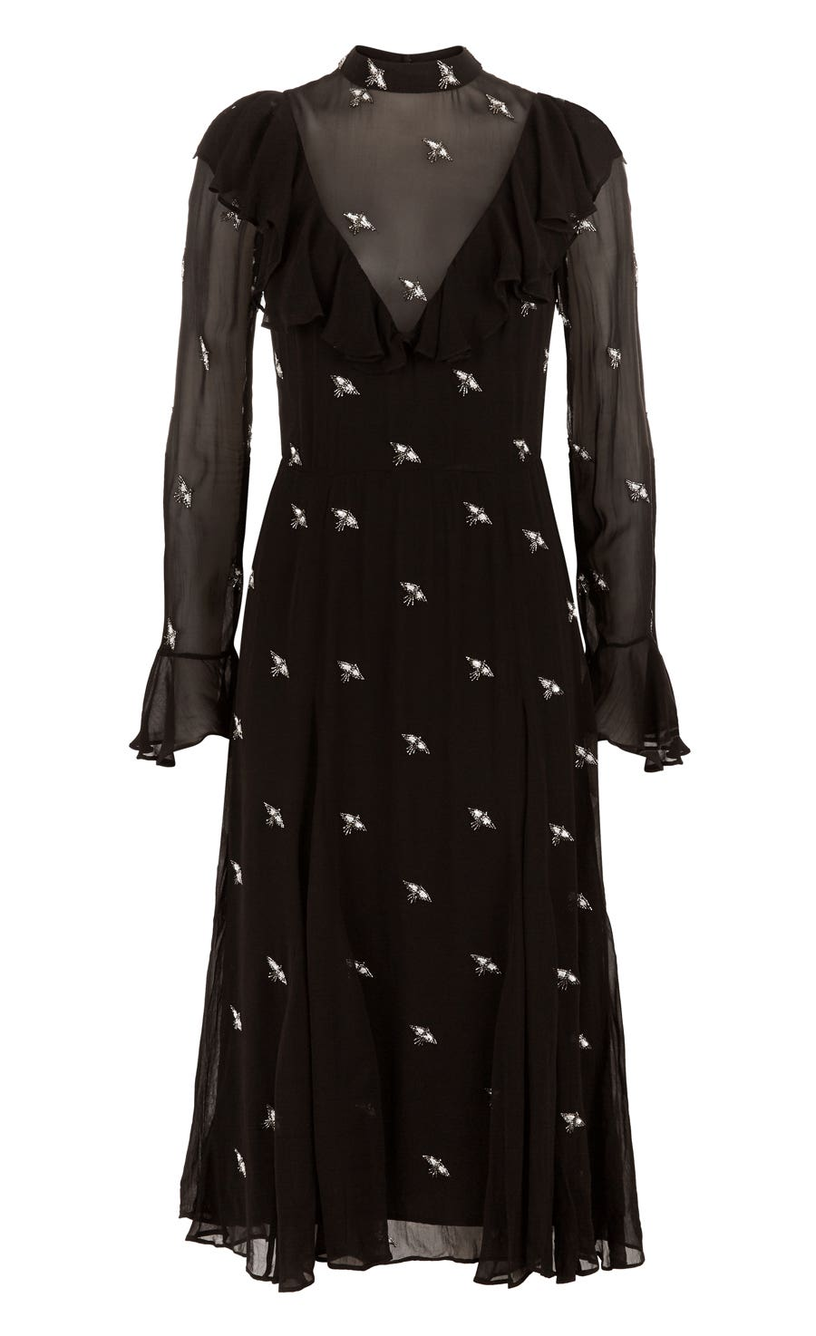 Starling Dress, Black
