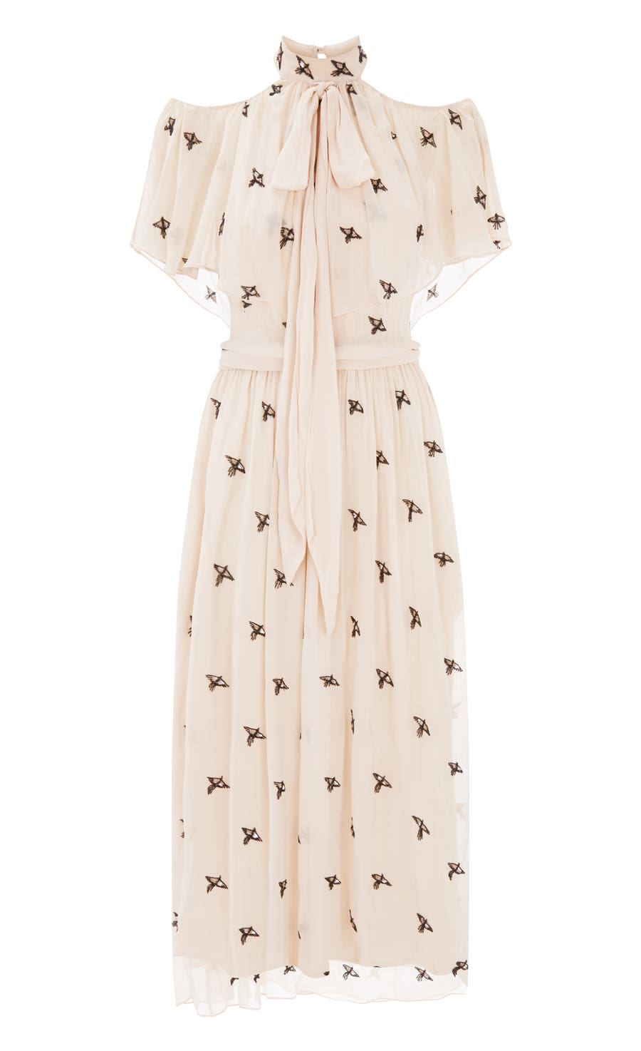 Starling Midi Dress, Almond