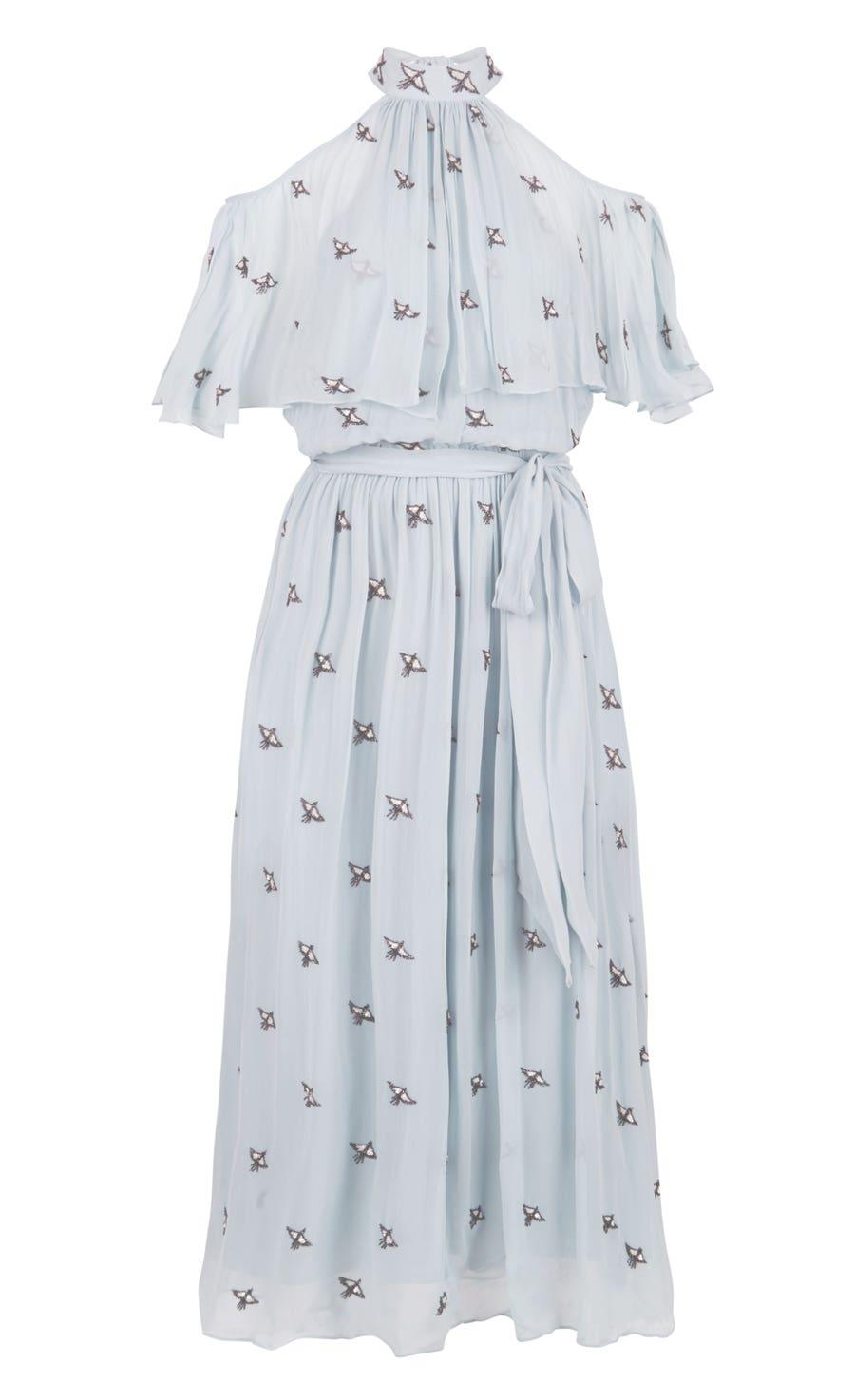 Starling Midi Dress, Frost