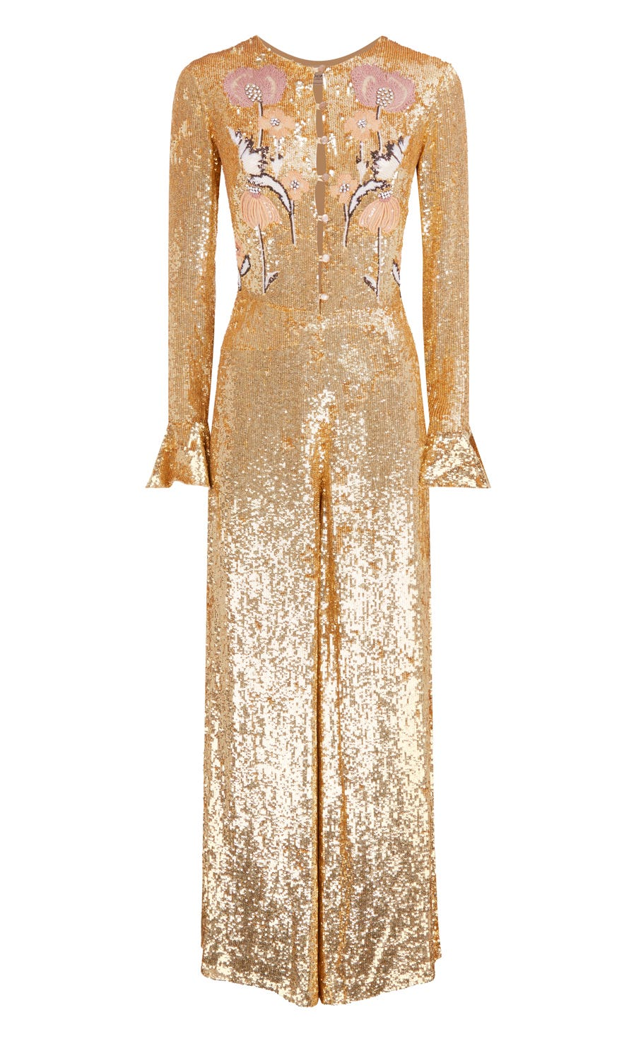 Wild Horse Jumpsuit, Gold Mix