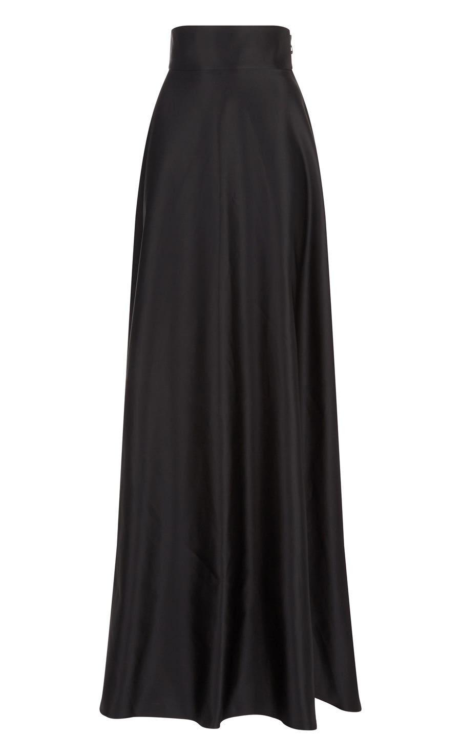 Waterlily Skirt, Black