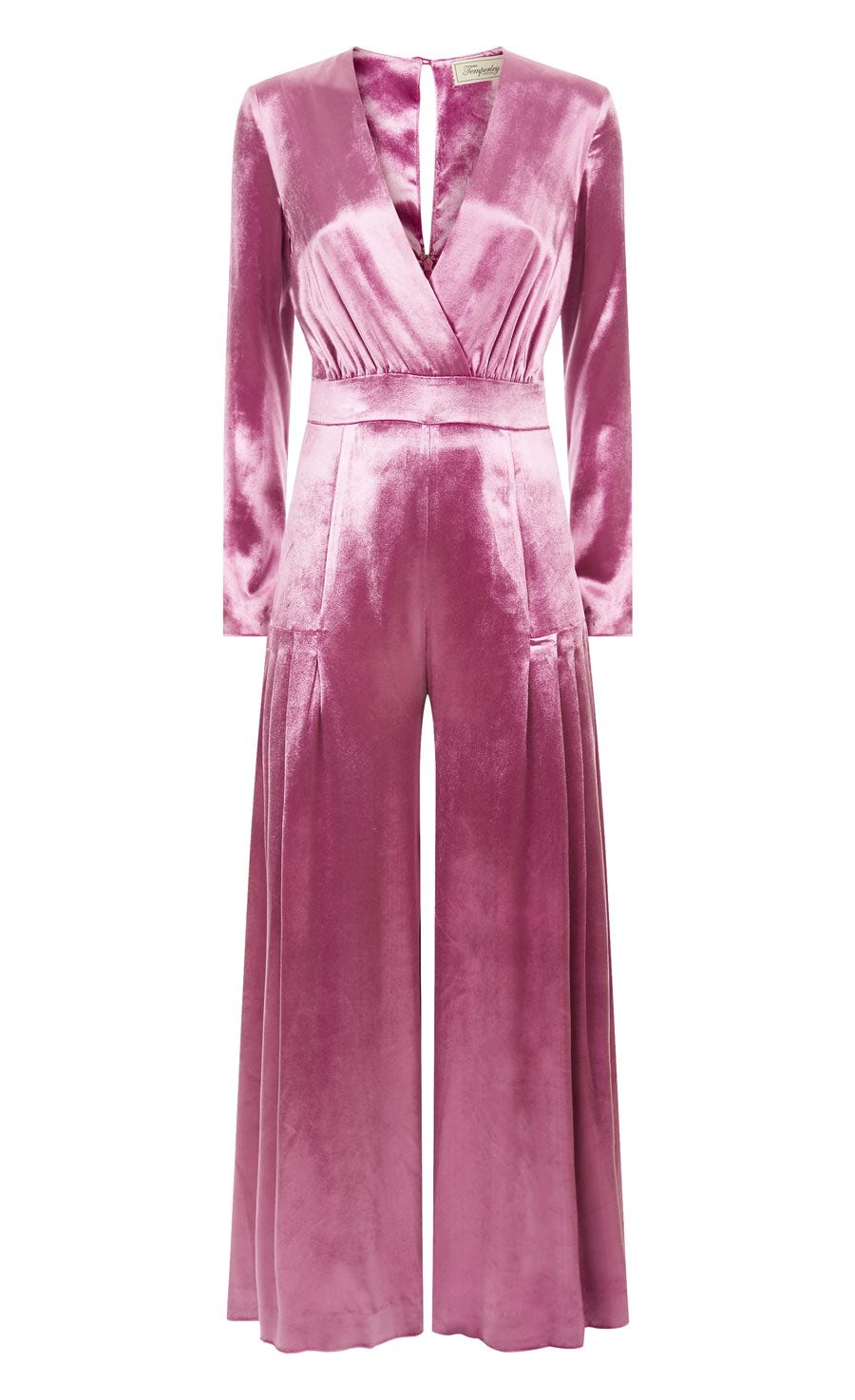 Breeze Wrap Jumpsuit, Buganvilia