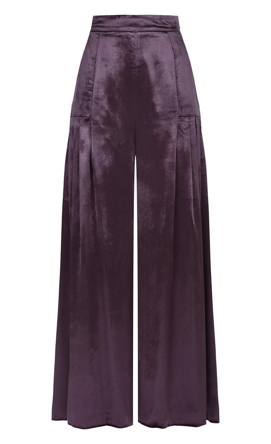 Breeze Trousers, Aubergine