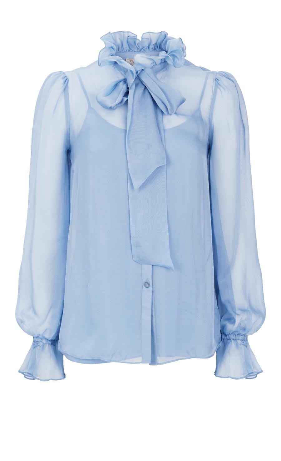 Costume Silk Shirt, Iris