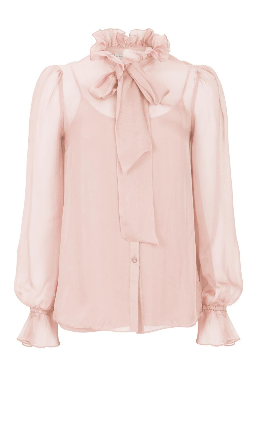 Costume Silk Shirt, Rose Quartz
