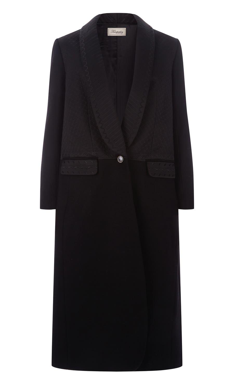 Dragon Coat, Black