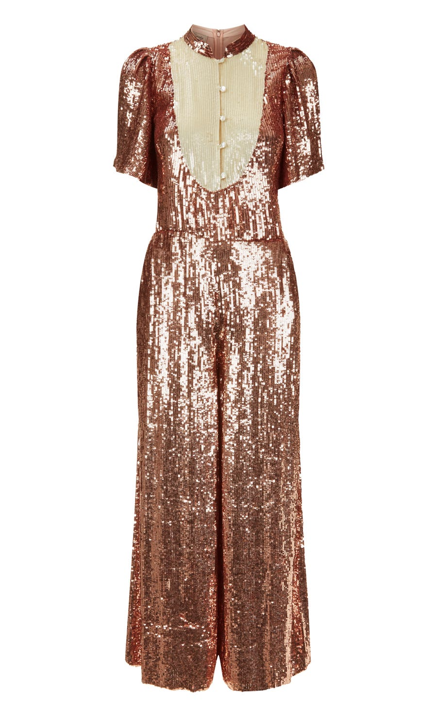 Filigree Jumpsuit, Rose Quartz