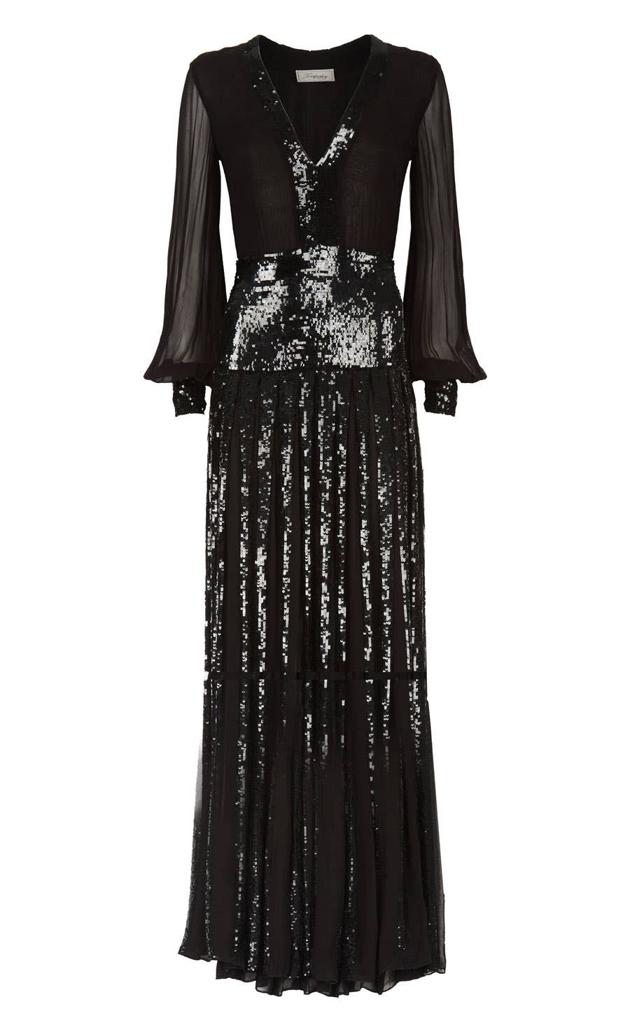 Filigree Dress, Black
