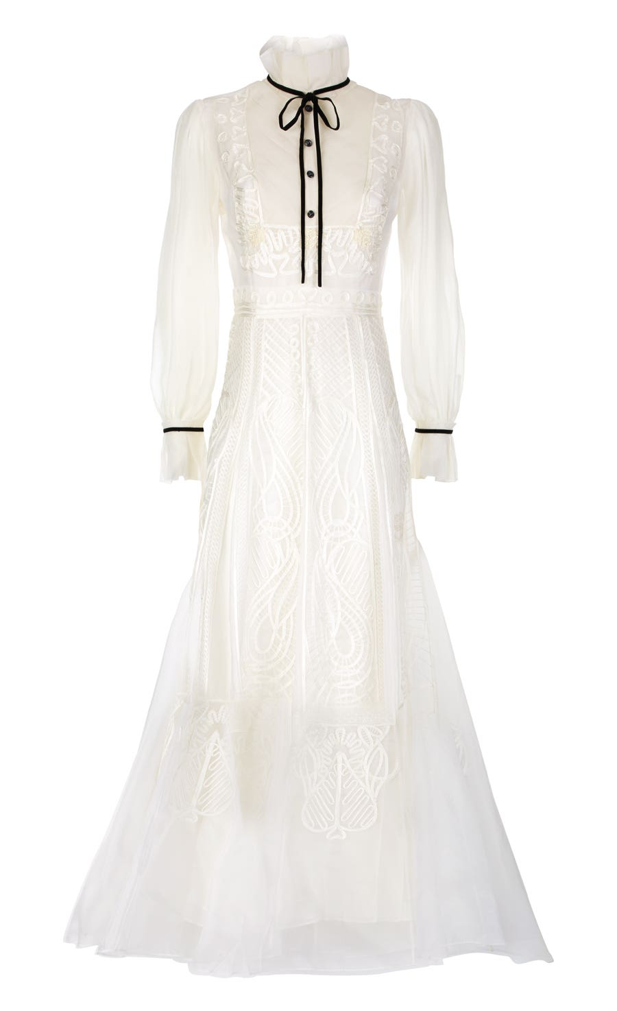 Imperium Dress, White Mix