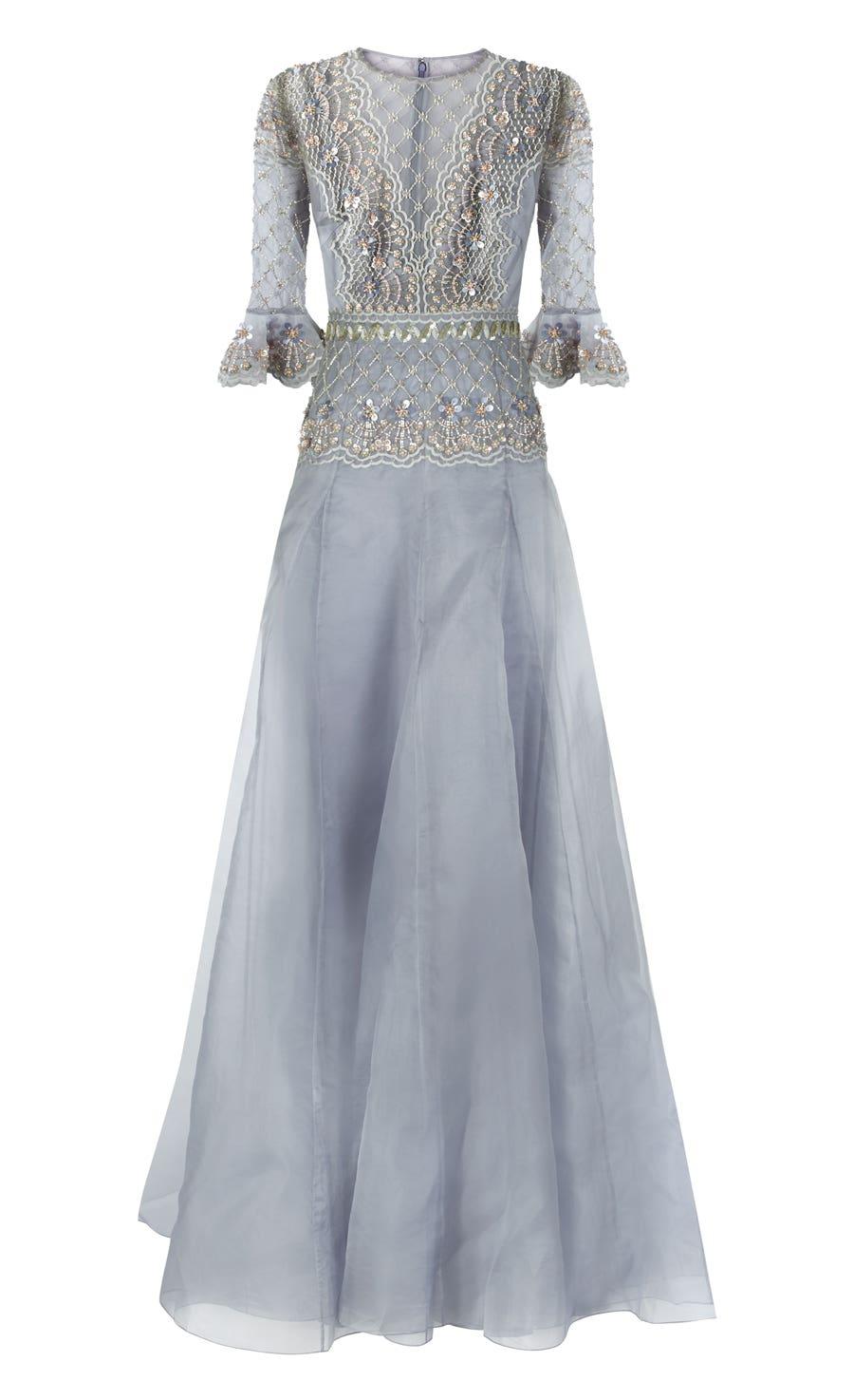Jewellery Long Dress, Opal