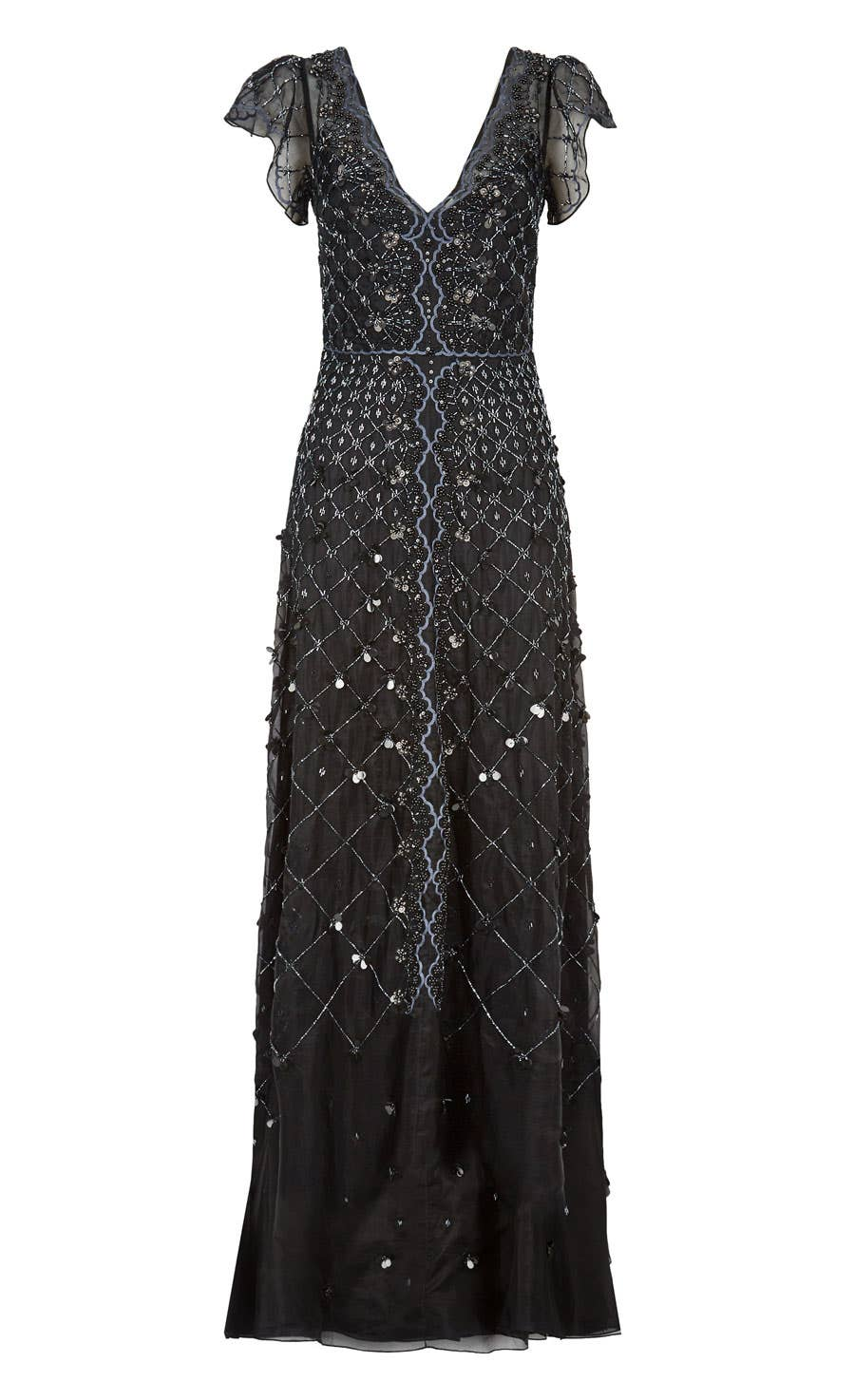 Jewellery Gown, Black