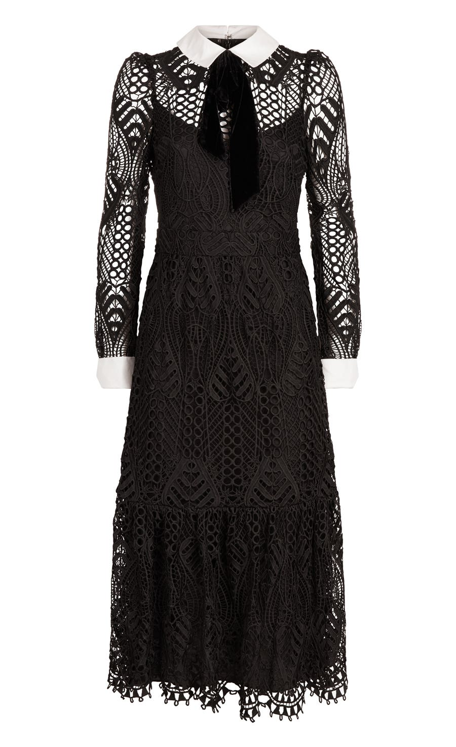 New Moon Dress, Black
