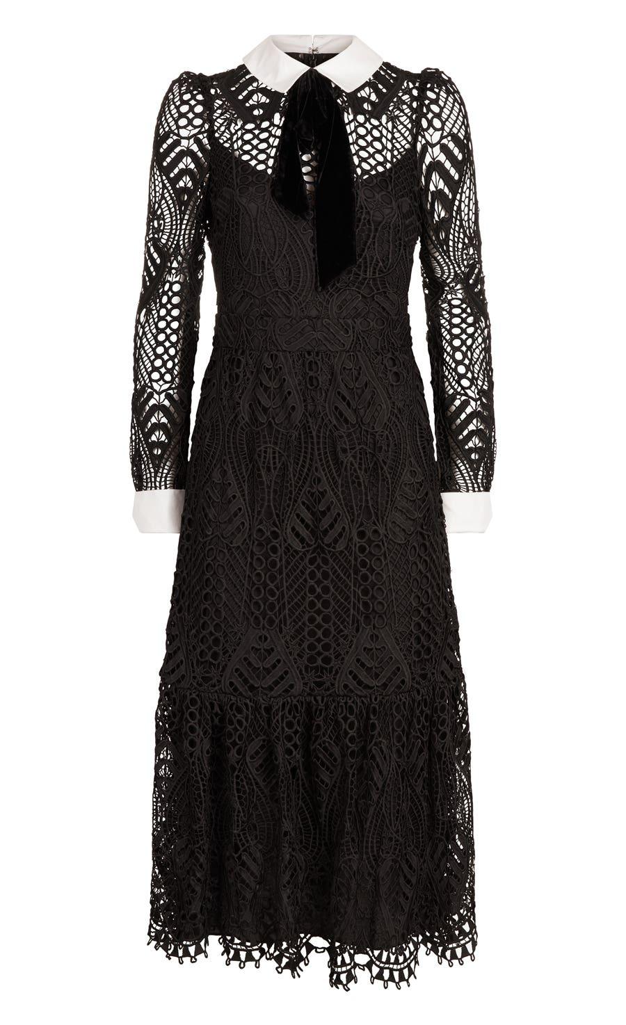 New Moon Dress, Black