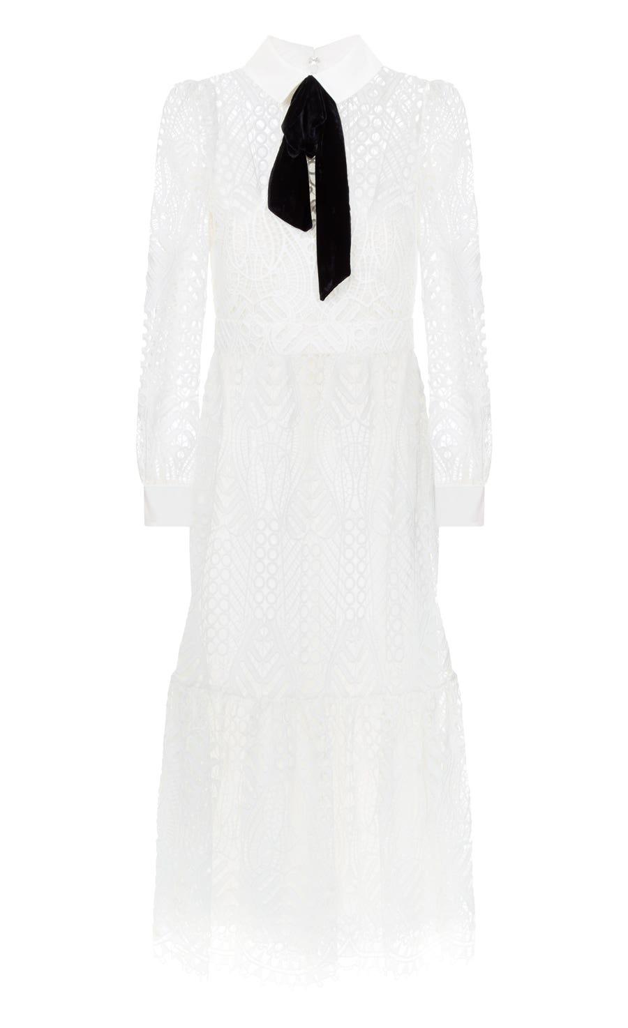 New Moon Dress, White