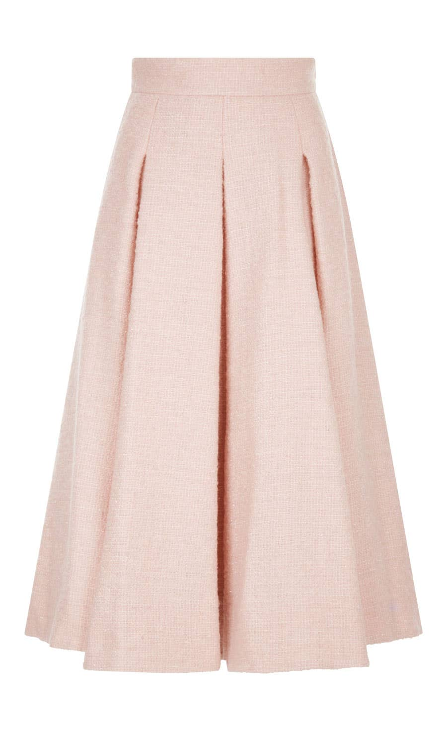 Palm Tailored Skirt, Rose Quartz