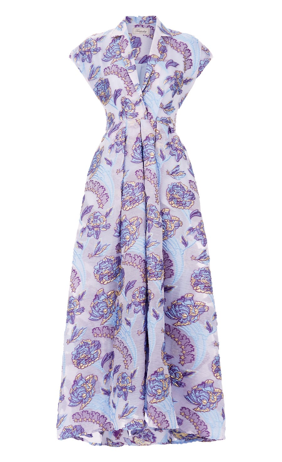 Elsa Collar Dress, Periwinkle