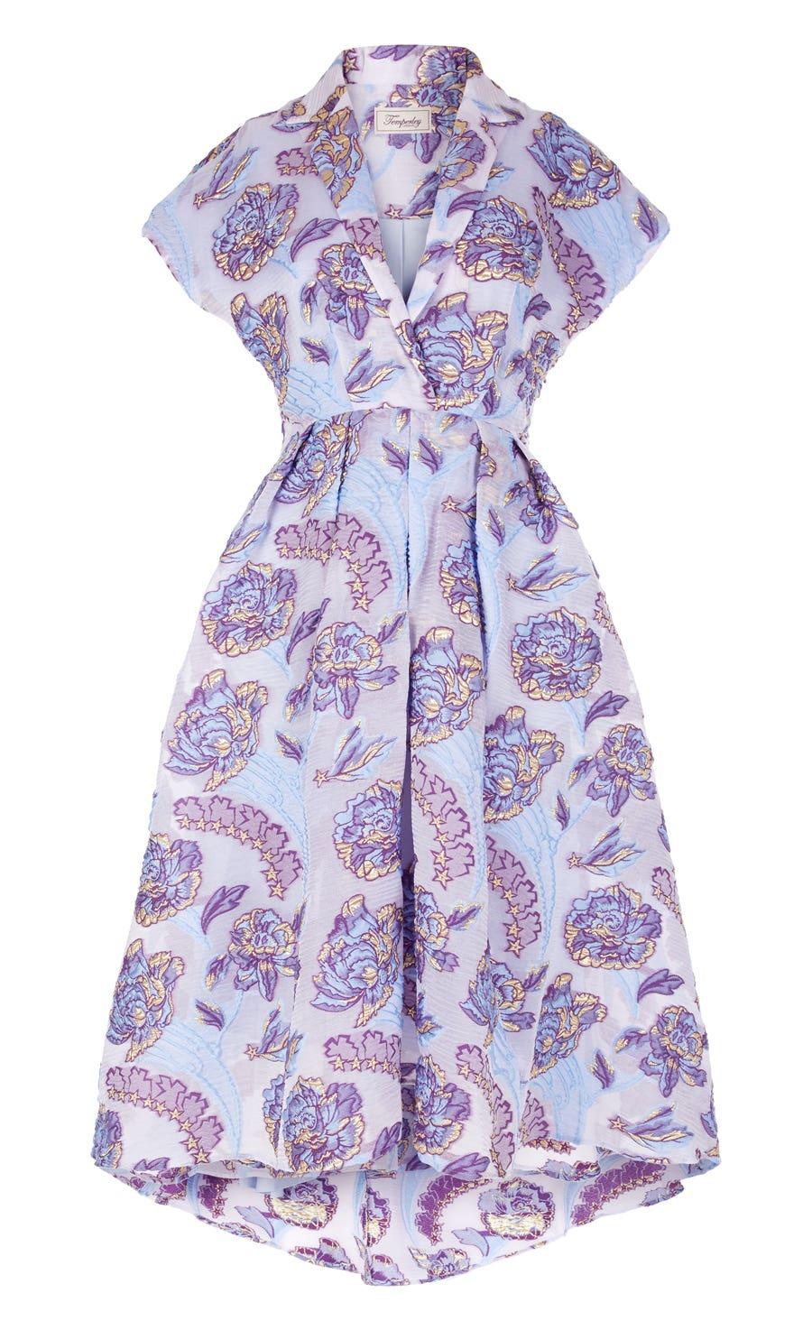 Elsa Short Dress, Periwinkle