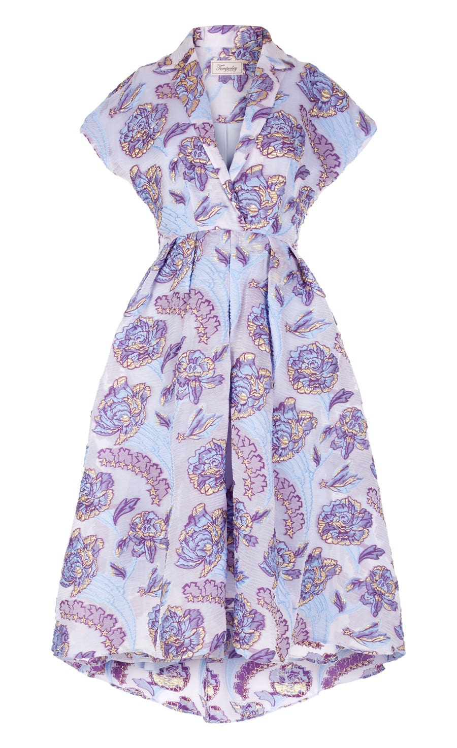Elsa Short Dress, Periwinkle