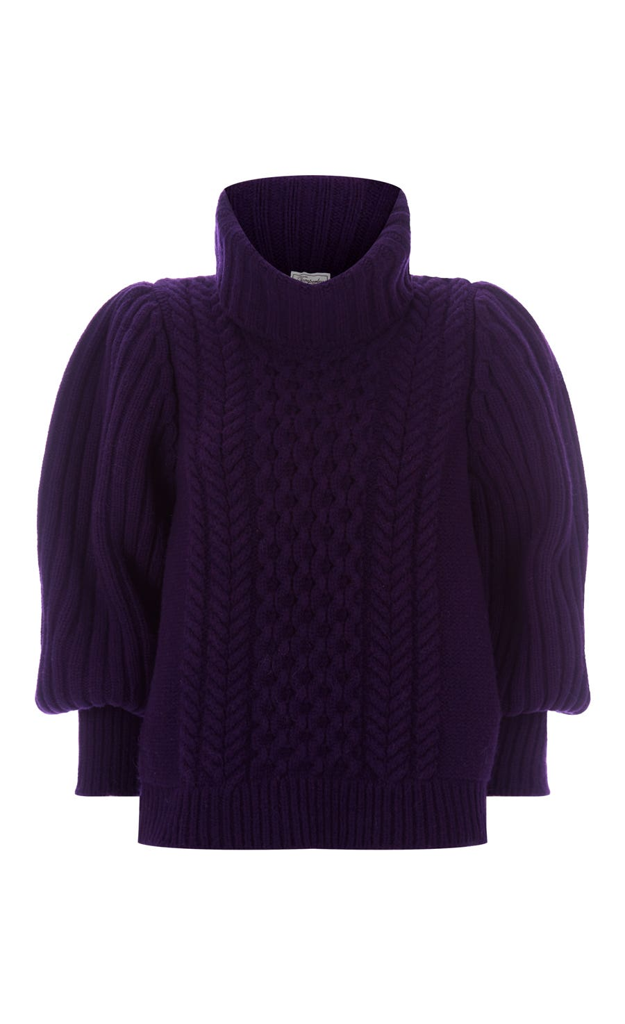 Shade Knit Jumper, Aubergine
