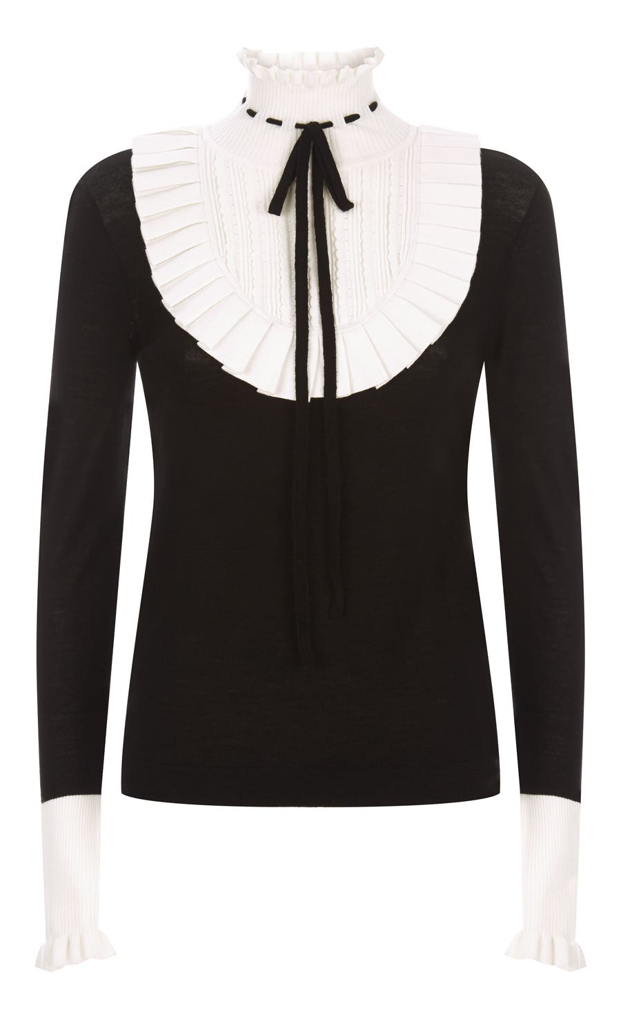 Sigmund Knit Jumper, Black