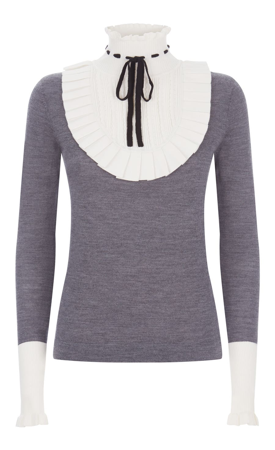 Sigmund Knit Jumper, Charcoal