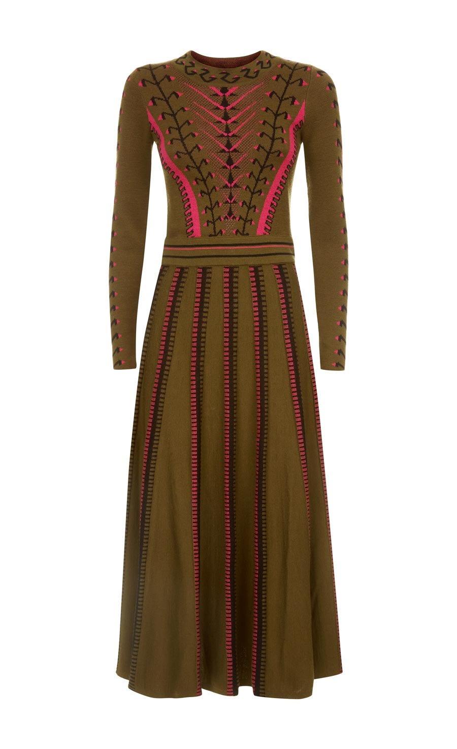 Ida Knit Flared Dress