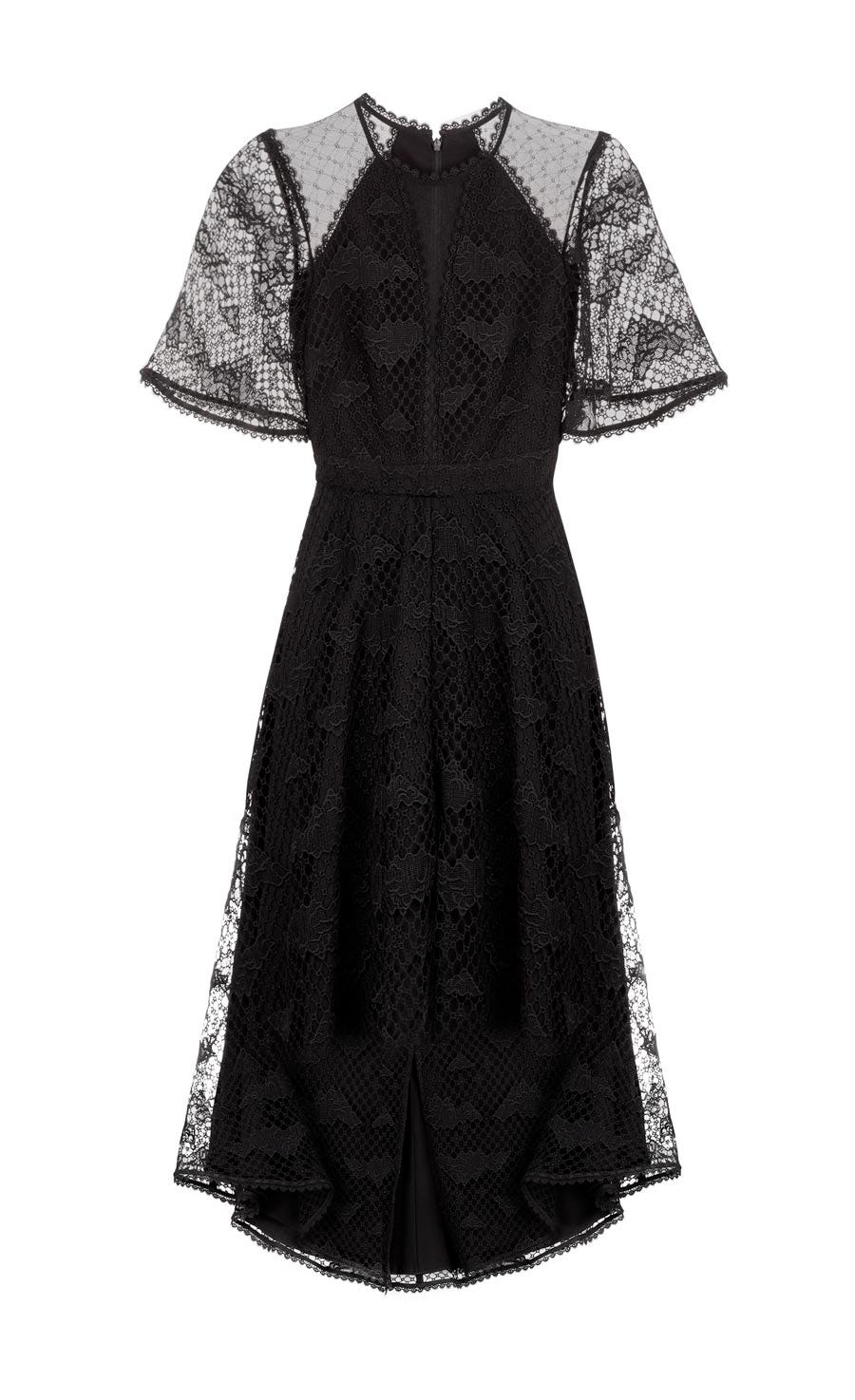 Haze Lace Sleeved Dress