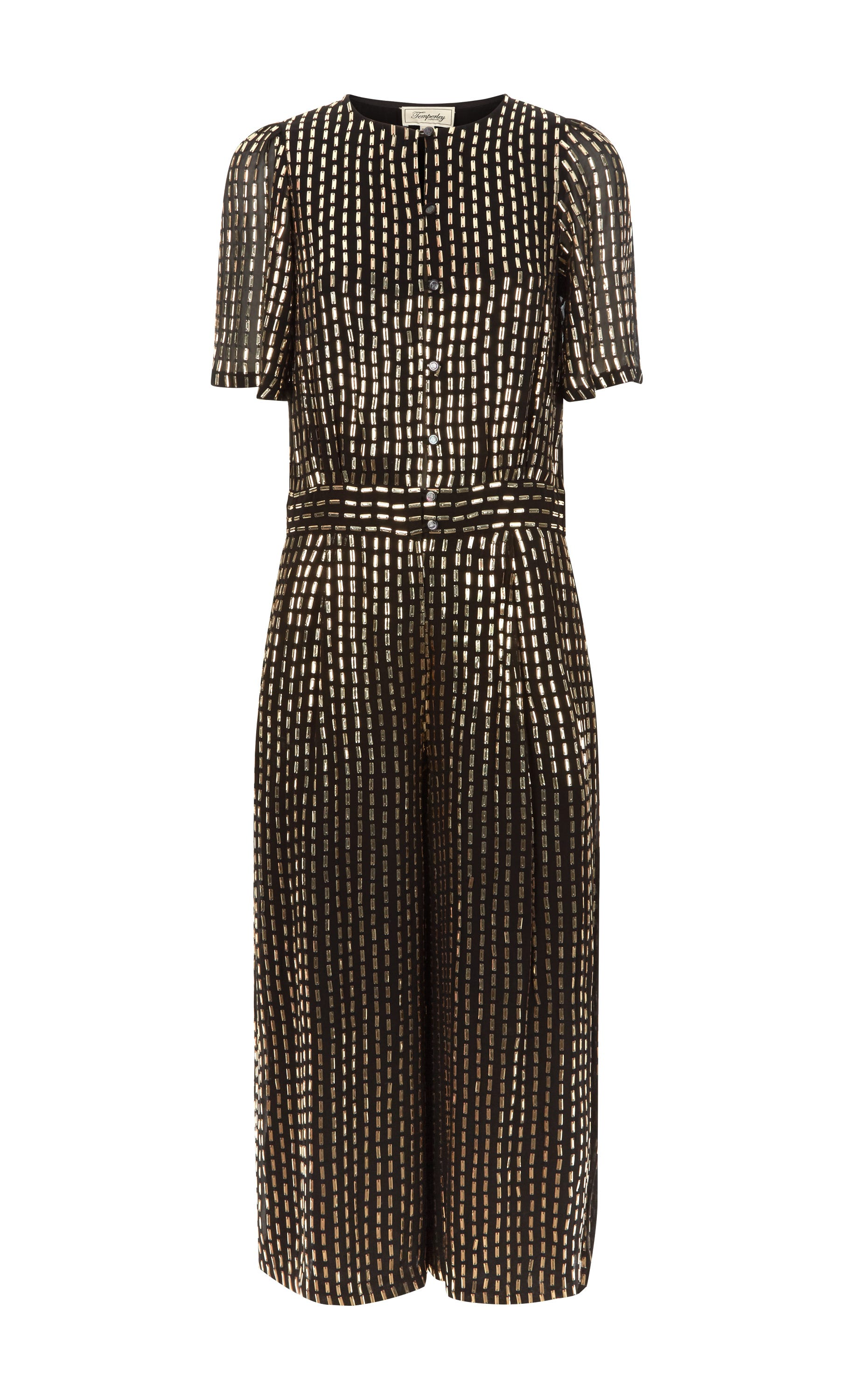 Mosaico Cropped Jumpsuit