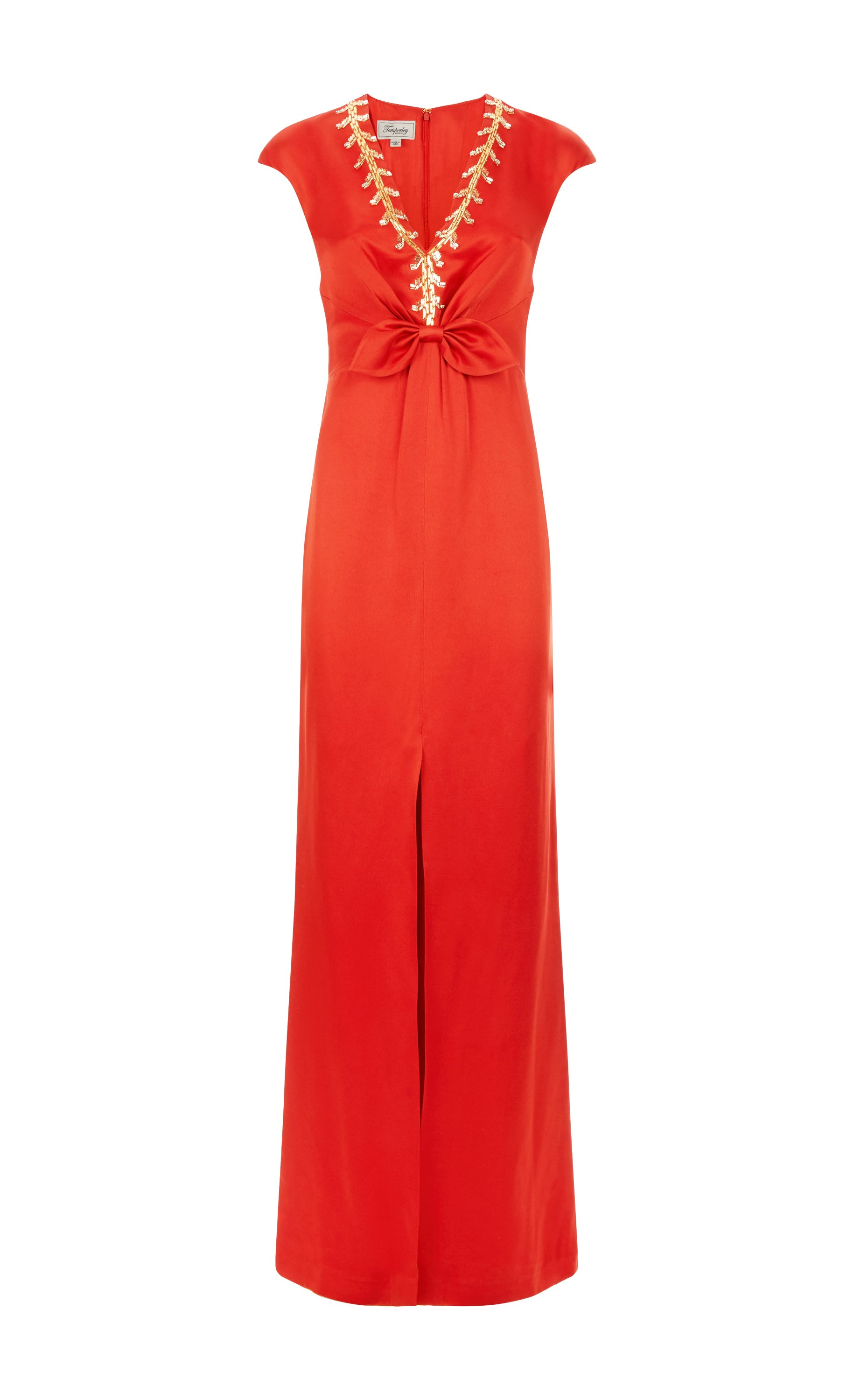 Nile Tie Gown