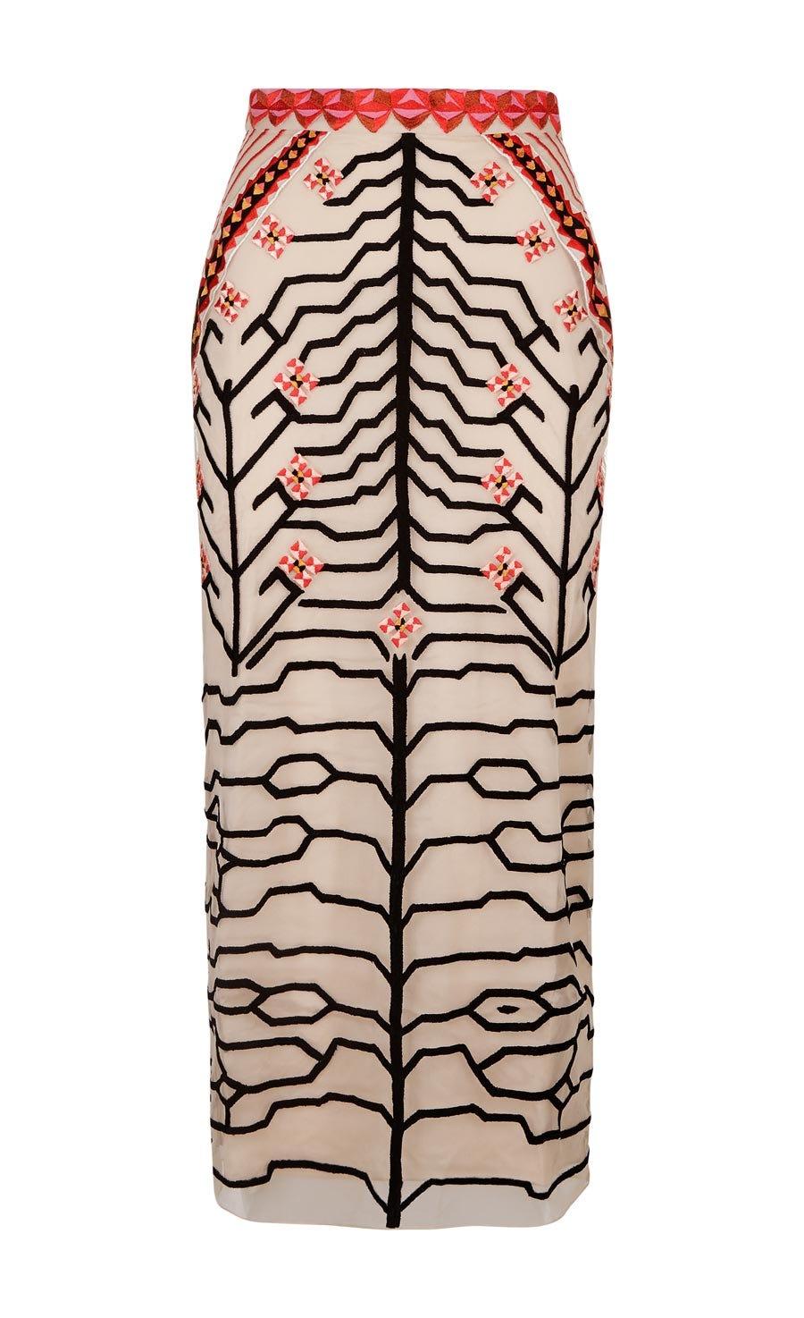 Canopy Pencil Skirt