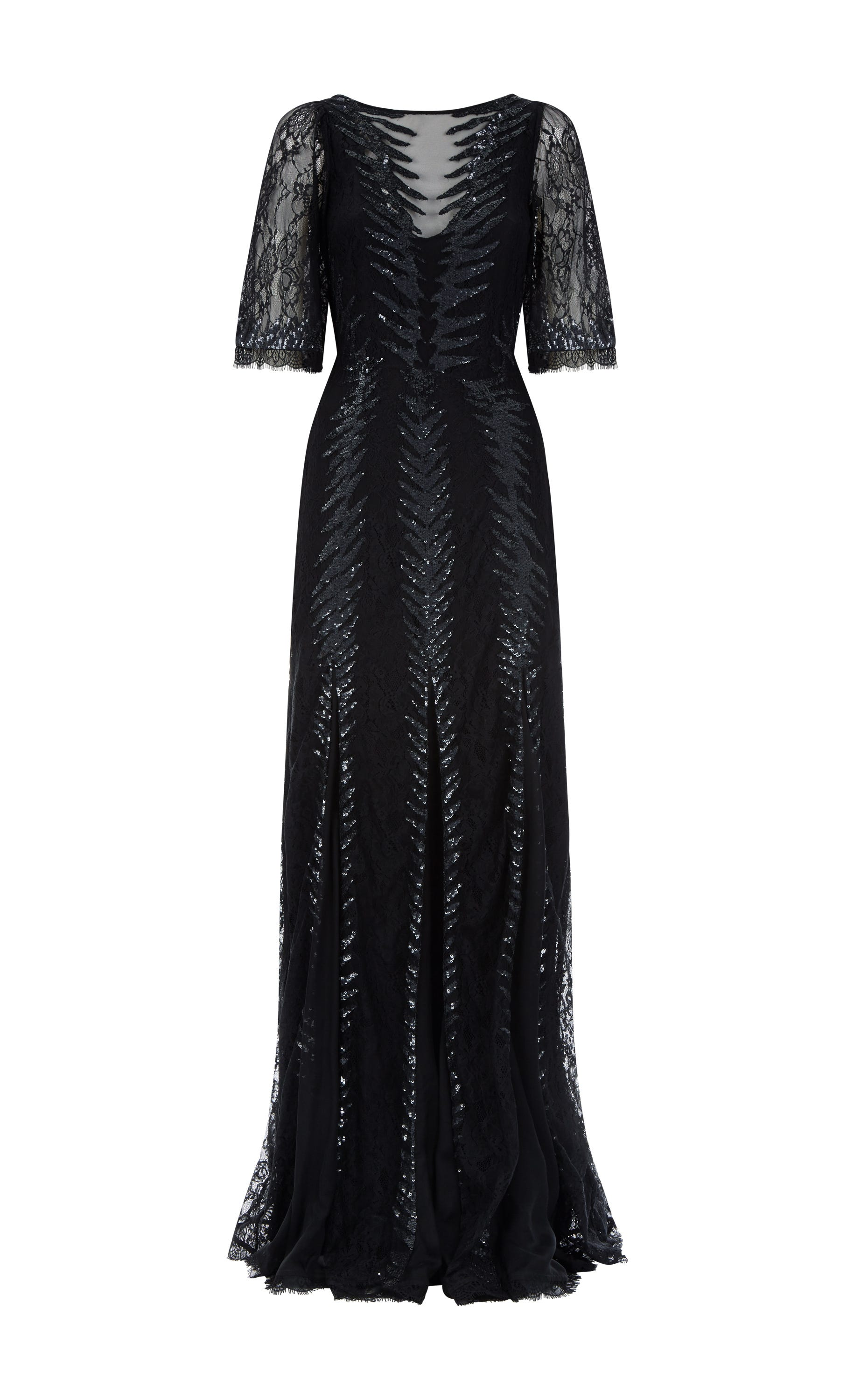 Panther Lace Gown