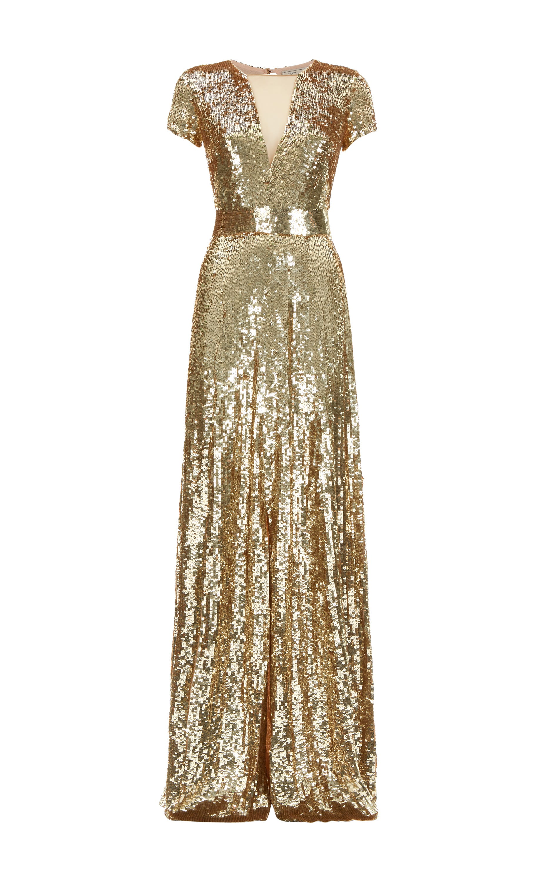 Ray Sequin Gown