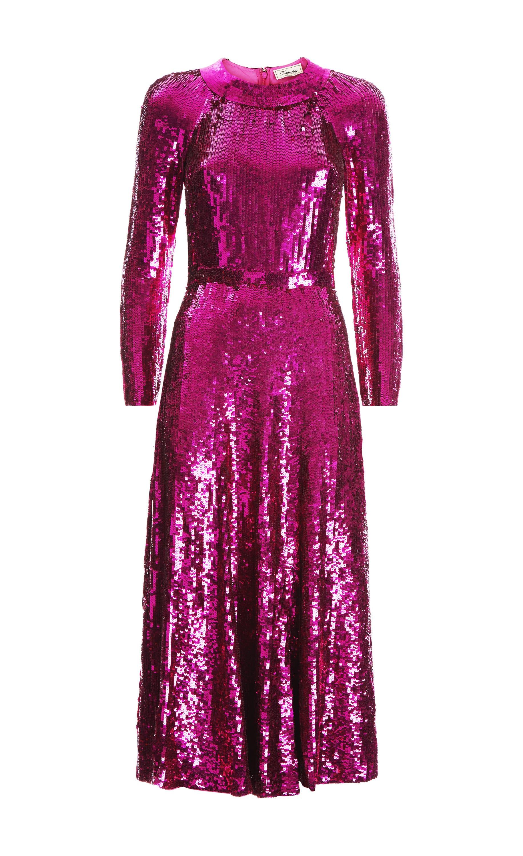 Ray Sequin Dress