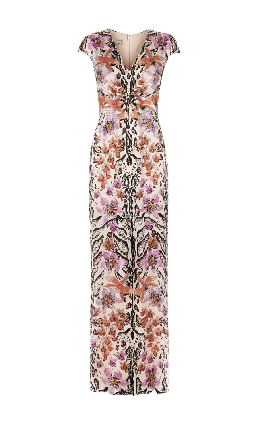 Safari Printed Tie Dress