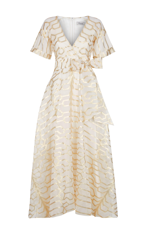 Tapis Wrap Dress