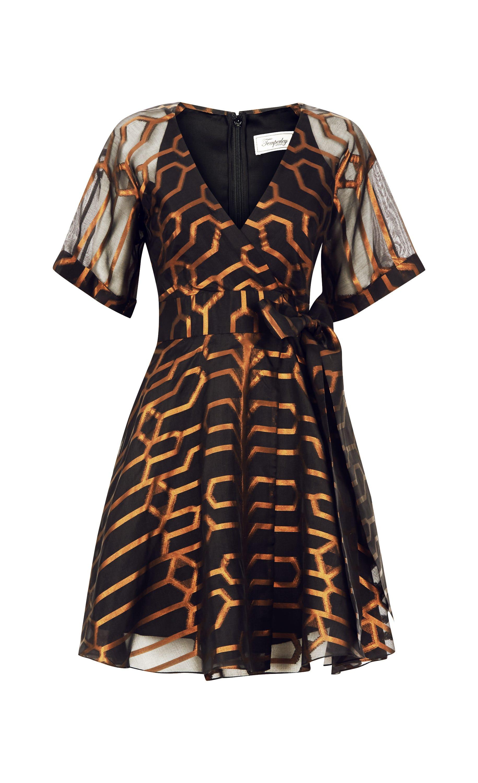Tapis Mini Wrap Dress