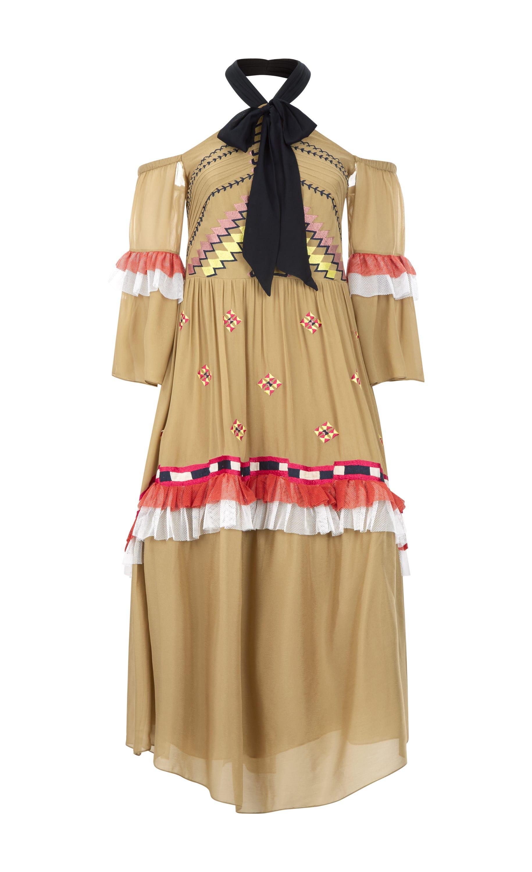 Traveller Off Shoulder Dress